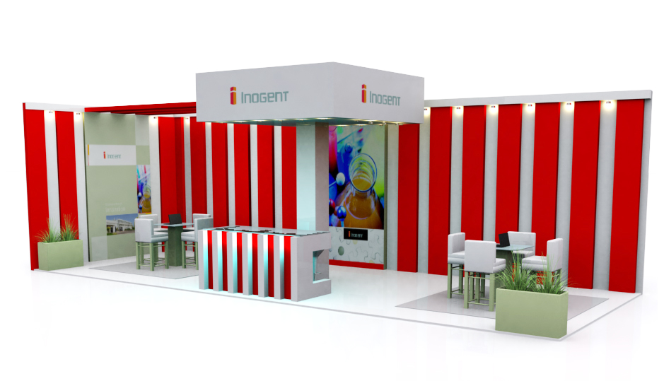 3d Exhibition Stall : D exhibition stall design company