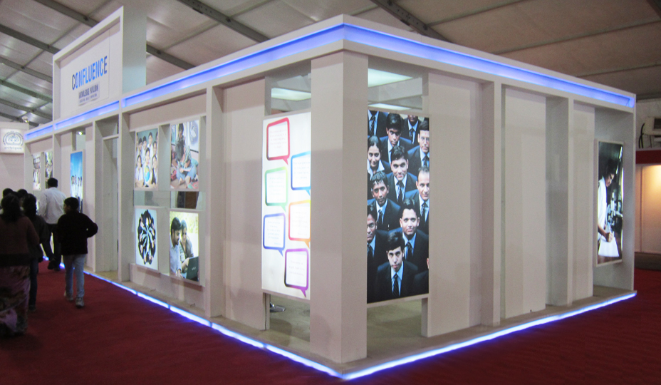 Wedding Exhibition Stall : Exhibition stall fabrication services