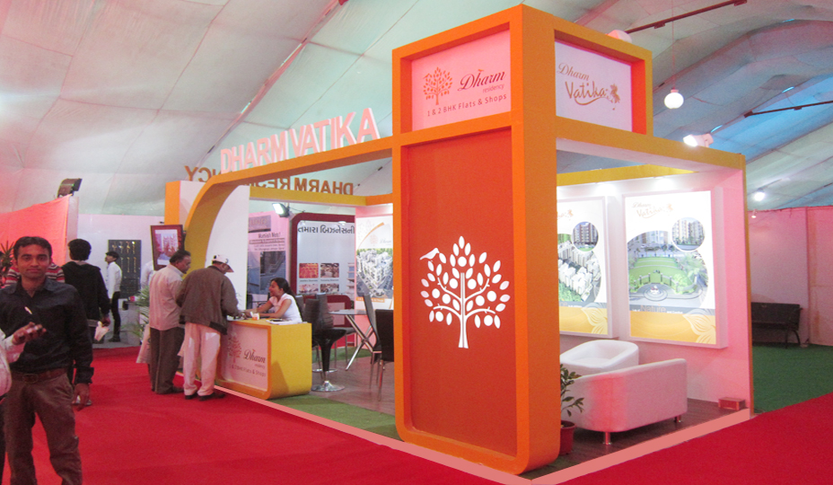 Property Exhibition Stall Design : Exhibition stall fabrication services