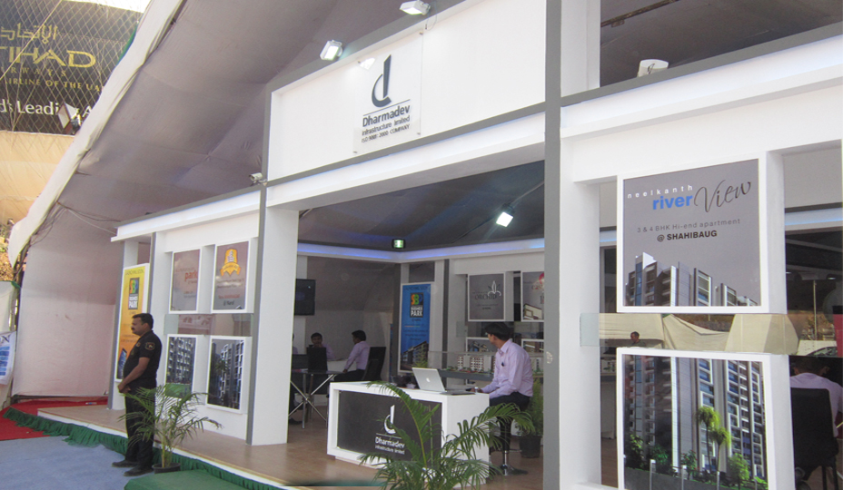 Exhibition Stall Decoration Ideas : Exhibition stall fabrication services