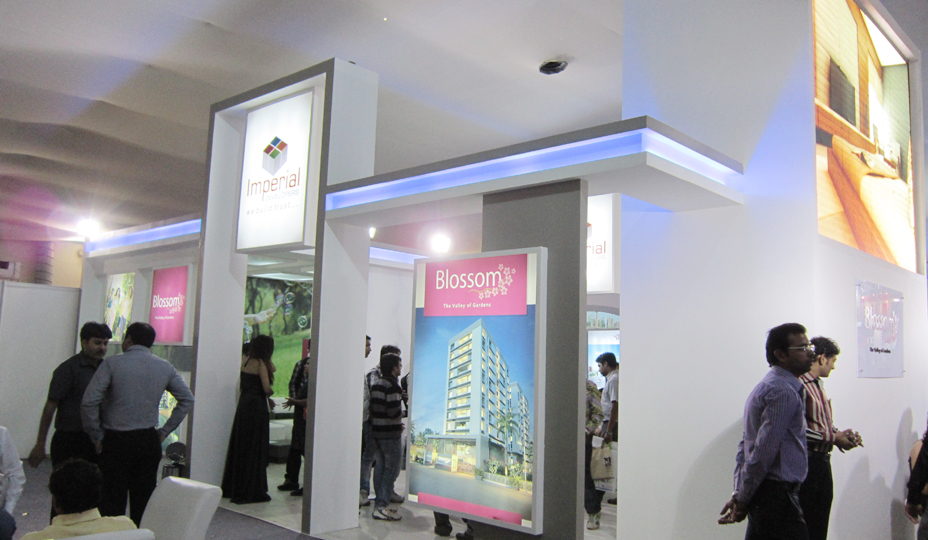 Property Exhibition Stall Design : Exhibition stall development company india