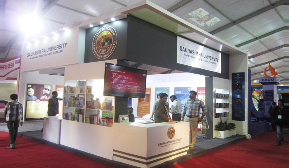 Exhibition Stand University : Exhibition stall fabrication services