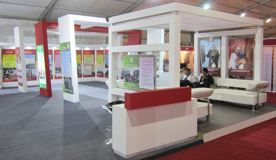 School Exhibition Stall Design : Exhibition stall fabrication services